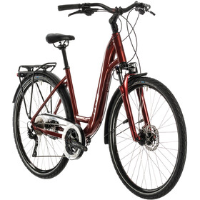 Cube Touring EXC Lav indstigning, red'n'grey